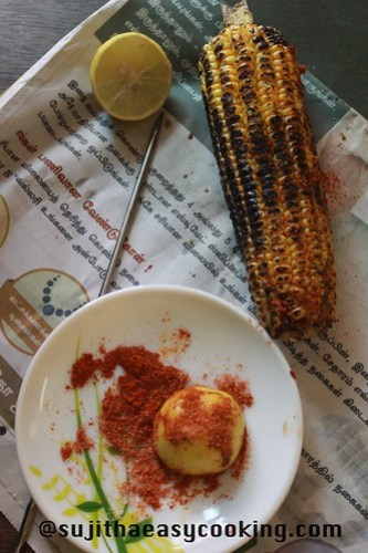 Sweetcorn with Lemon and chilli2