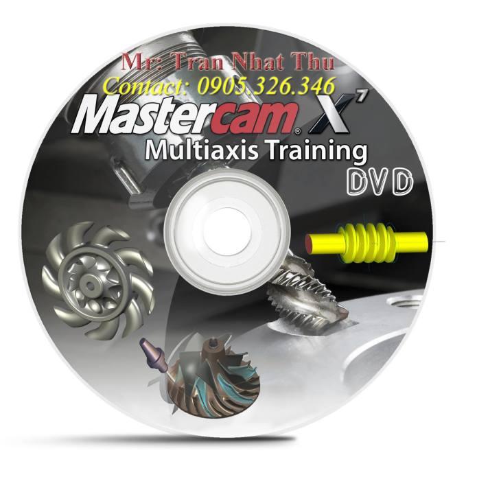 DVD lập trình gia công 4 trục, 5 trục với mastercam X7