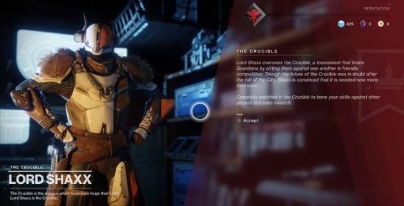 Destiny 2 - Lord Shaxx