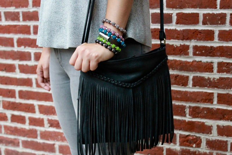 Fringe Crossbody Bag | Shades of Sarah