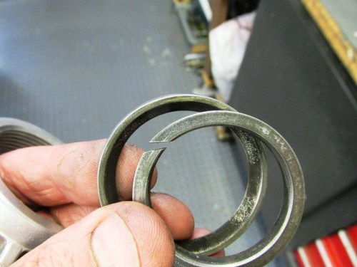 Header Pipe Seal Rings Orientation