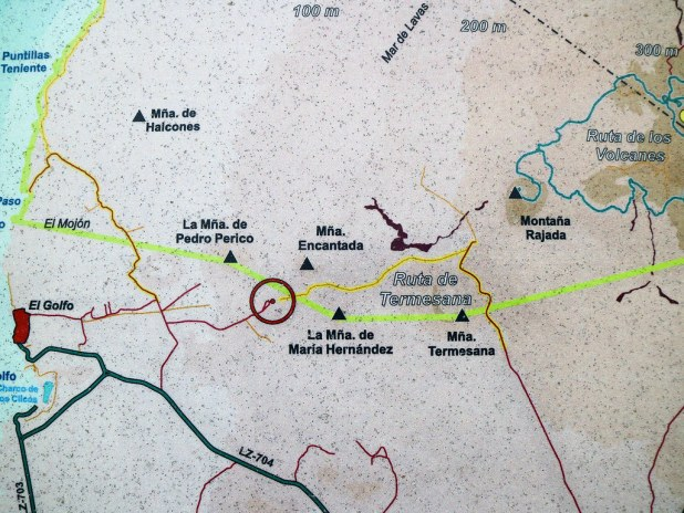 Mapa ruta Tremesana