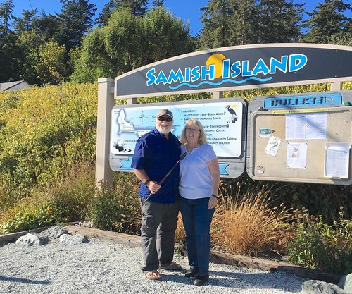 Tom and Laura on Samish Island