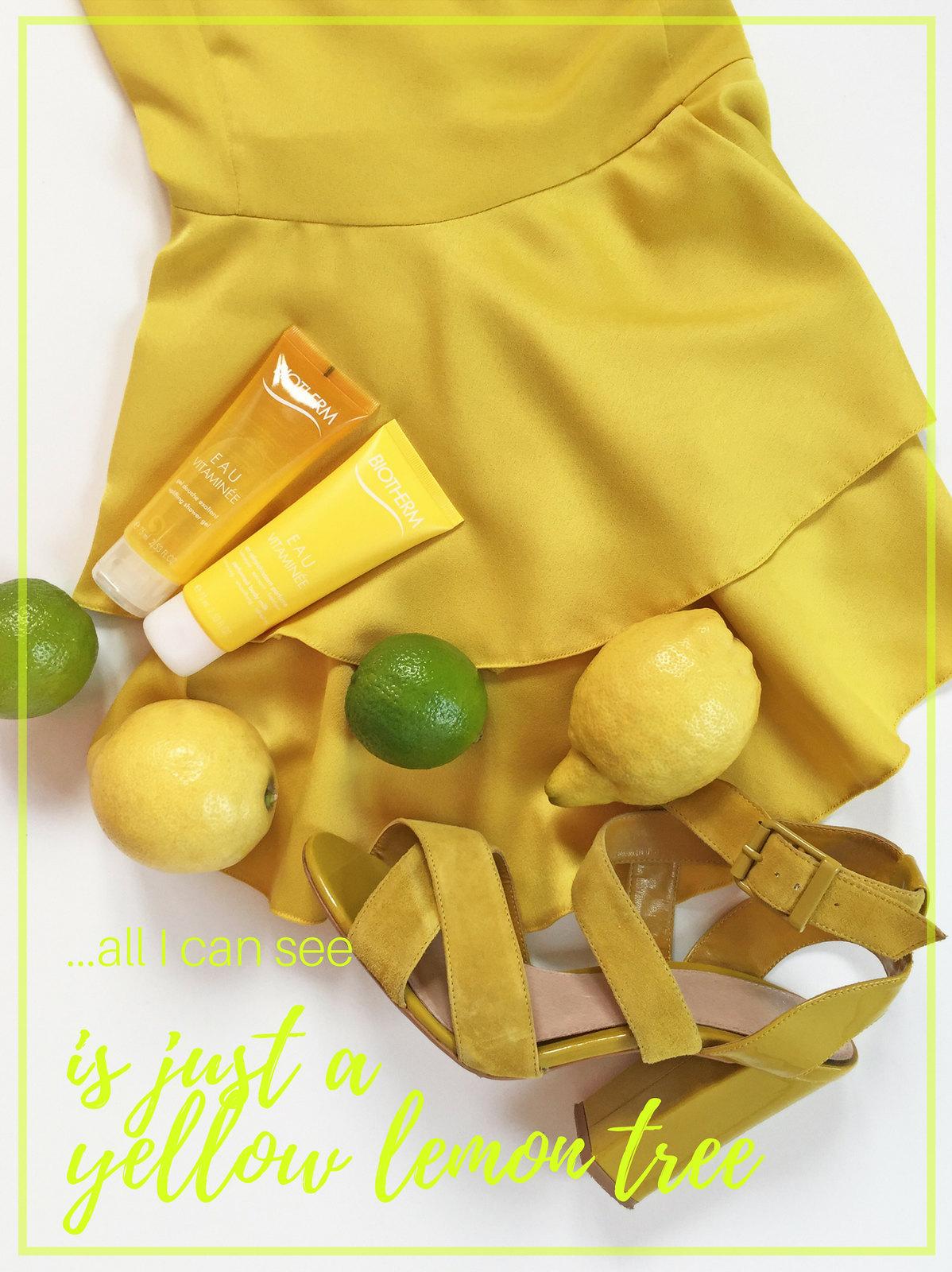 Yellow Summer Top Leomons LadyofStyle