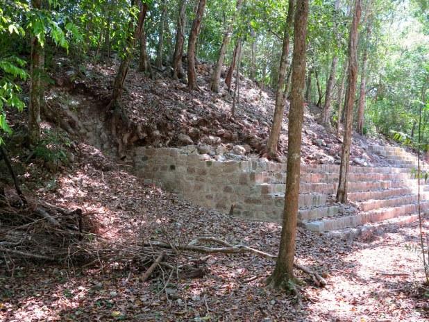 Interior de Calakmul