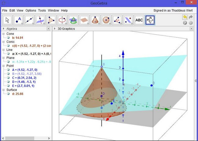 Working with GeoGebra 6.0.295.0 macOS full license