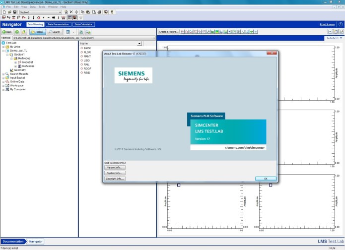 Working with Siemens LMS Test.Lab 17A full license