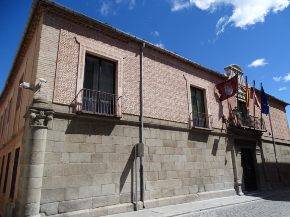 Segovia Palacio de Uceda Peralta