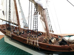 Early 18th century pirate ship - 1:57