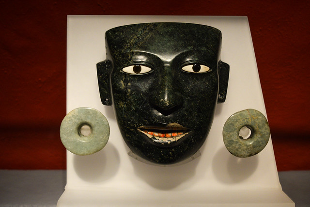 Aztec ceremonial mask found at Templo Mayor