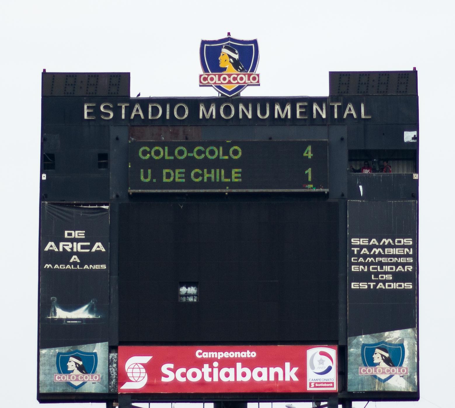 Colo-Colo 4-1 Universidad de Chile