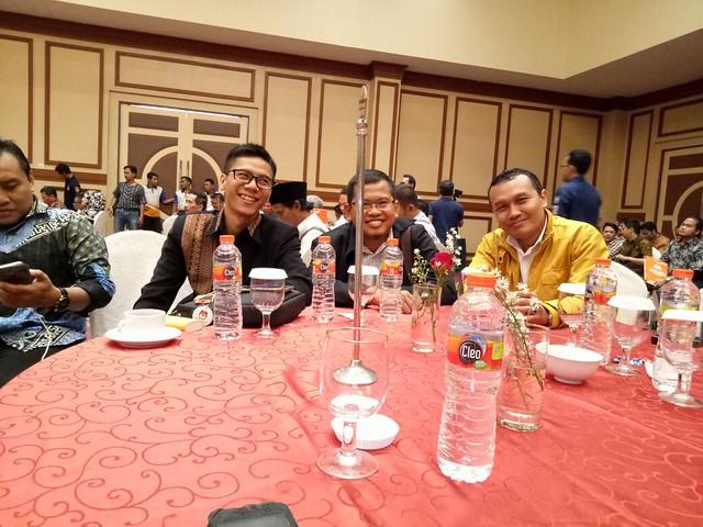 Komisioner KPU Tulungagung saat menghadiri Launching PILKADA KPU Kota Malang di Ijen Suite Resort Convention Hotel Kota Malang (8/9)