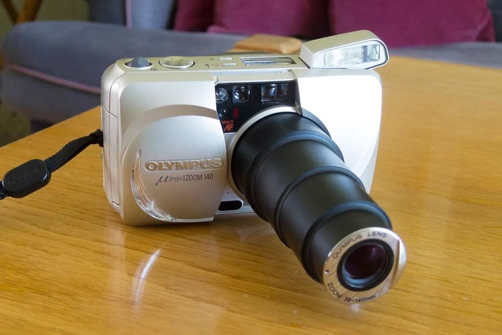 Olympus µ(mju:) Zoom 140