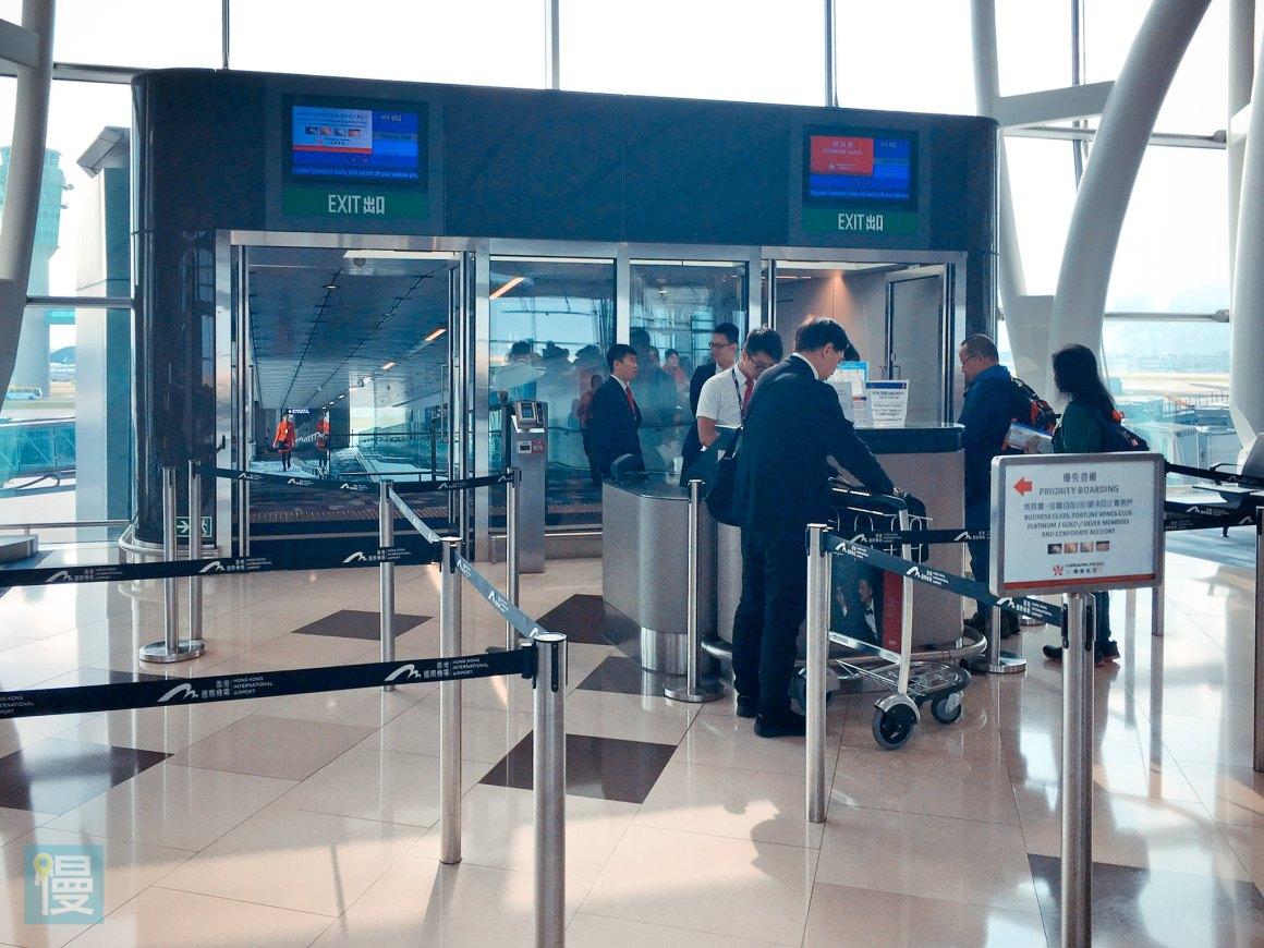 香港航空商務艙香港─札幌航線-11