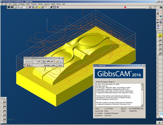 Programming with GibbsCAM 2016 Build 11.3.37.0 full crack
