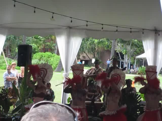 Video from the Heiva i Vaihi Tahitian Sports Competition