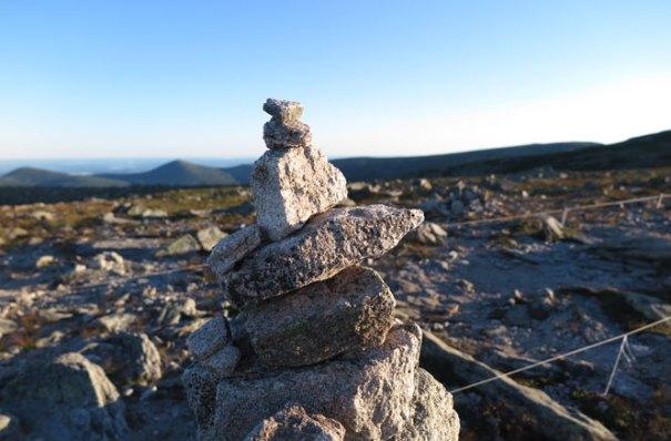 Katahdin Abol Trail Cairn
