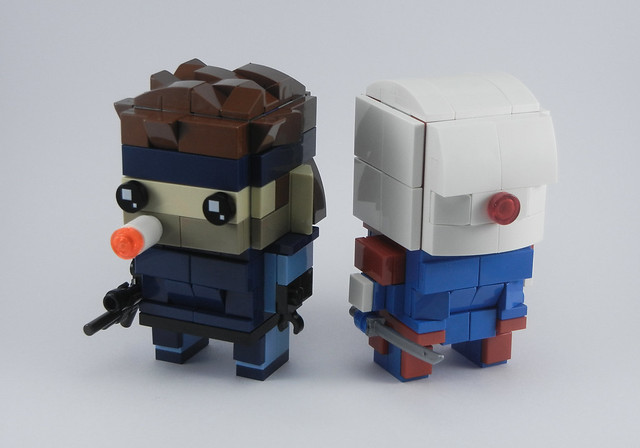 Solid Snake & Cyborg Ninja