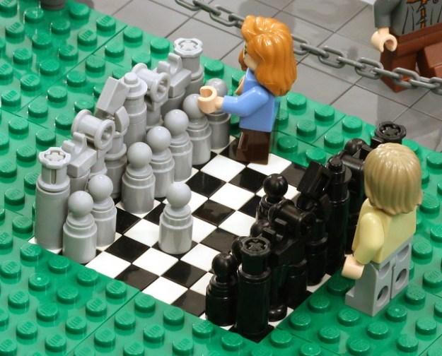 Antiquing on Mushroom Row - Park Chess