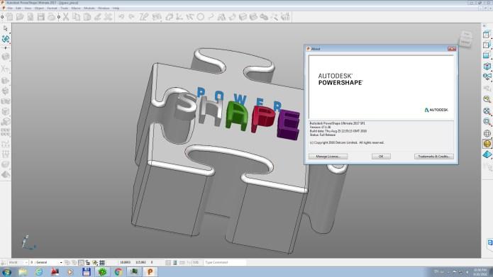 Thiết kế với autodesk delcam powershape 2017 SP1 full