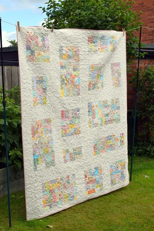 Improv Vintage Quilt (Quilt Now Sept17)