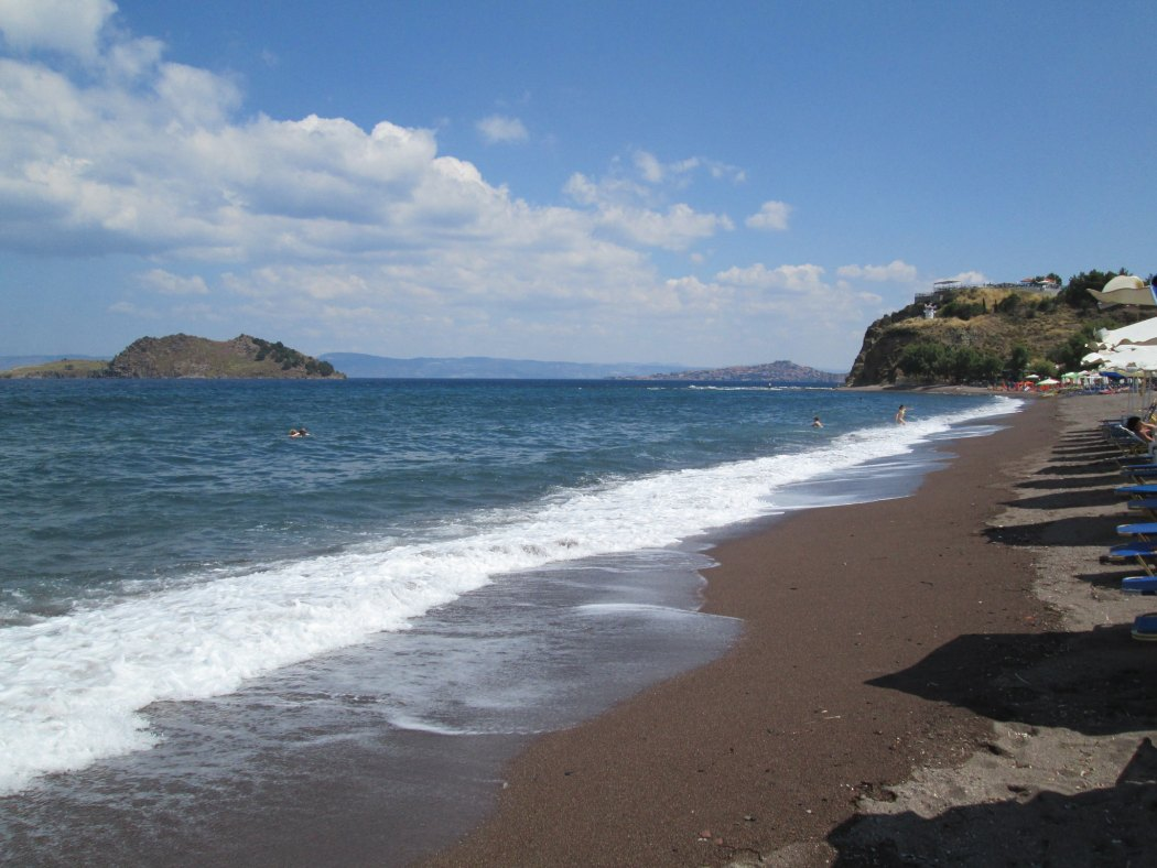 Anaxos beach, Lesvos