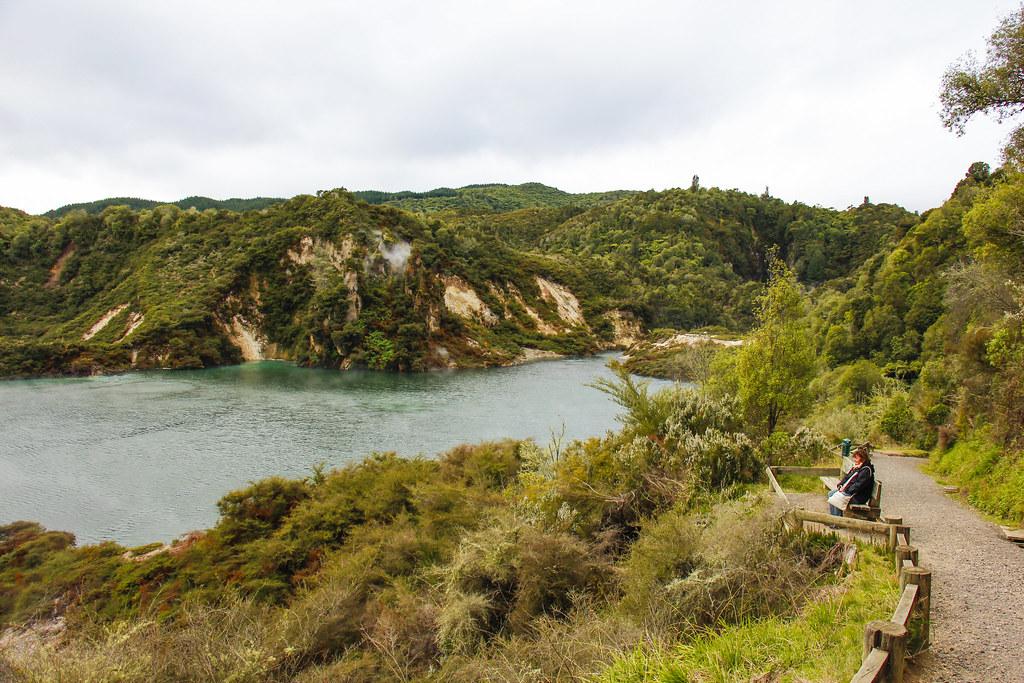 echo crater og Flying Pan Lake