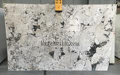 Alaska White Granite slabs for countertops 3cm