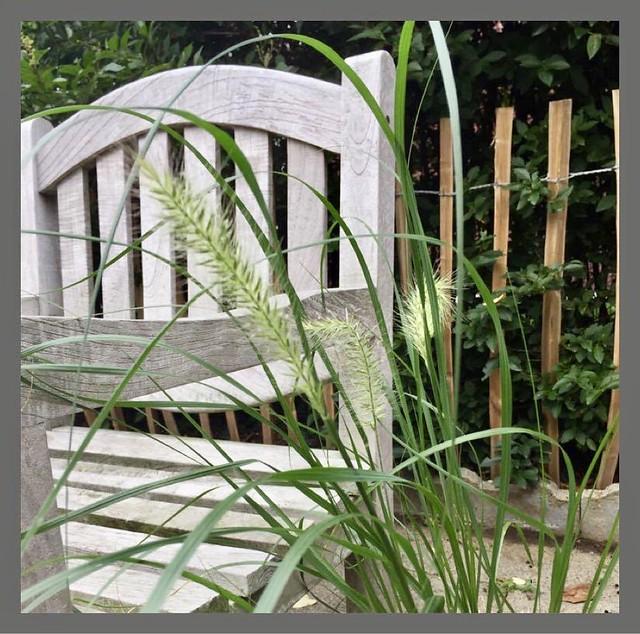 Houten tuinstoel