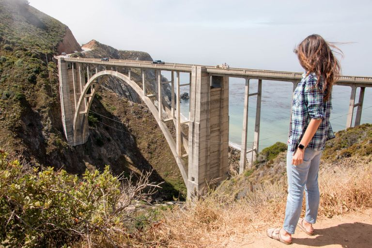 08.06. Bixby Bridge from the east side