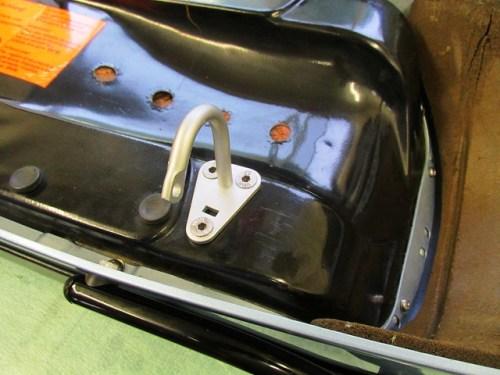 Rear Hinge Installed