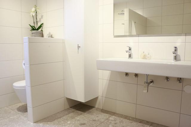 Wastafel toilet landelijk strak