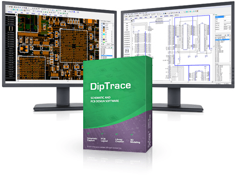 Working with DipTrace 3.1.0.1 full license