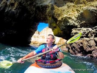 Kayak en Ponta Da Piedade