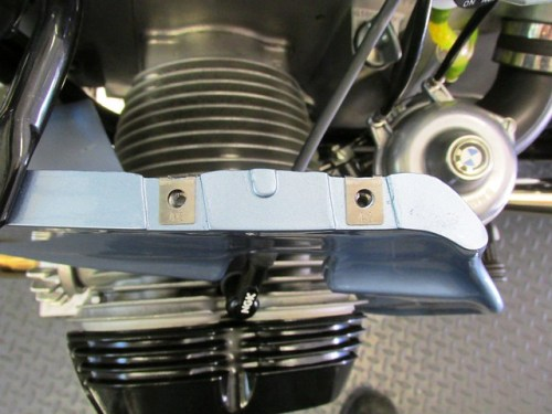 Tinnerman Clips Installed in Lower Panel (Note Orientation of Clips)