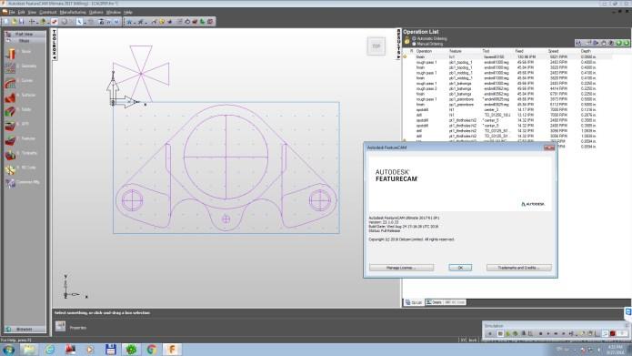 Phần mềm lập trình gia công Autodesk Delcam FeatureCAM 2017 SP1