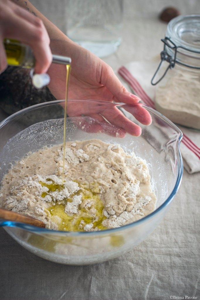 Focaccia con zucca, cipolle e olive_4