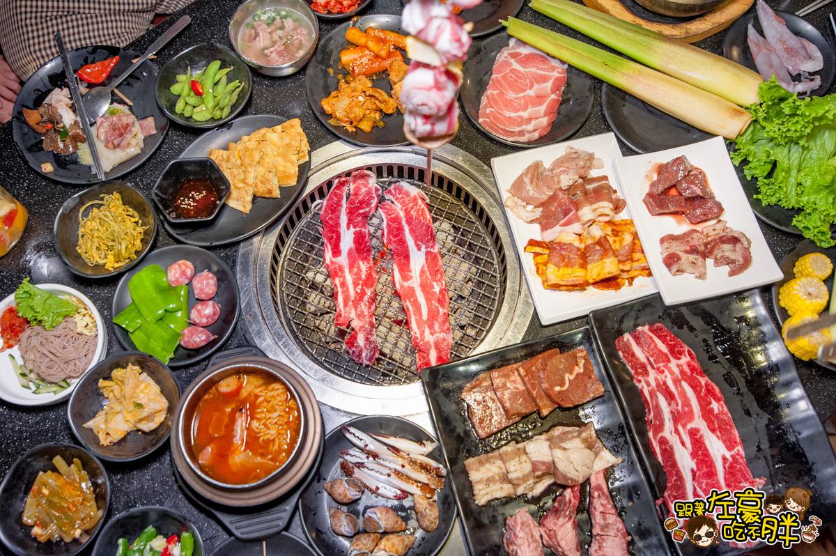 全臺最大韓式烤肉店 ! 東大門燒烤暢食館 韓式料理X無限肉品 – 跟著左豪吃不胖