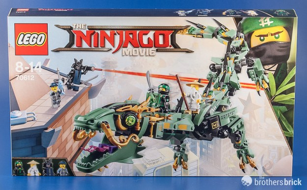 Facing off with 70612 Green Ninja Mech Dragon from The LEGO ...