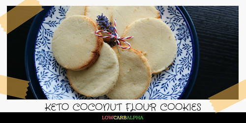 Keto Coconut Flour Cookies Recipe