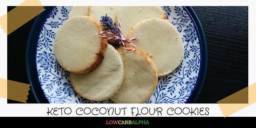 Keto Coconut Flour Cookies Recipe
