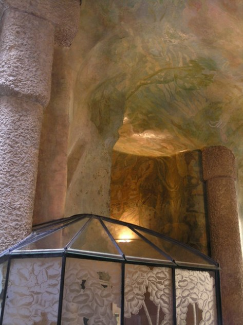 Barcelona Casa Milà  lobby