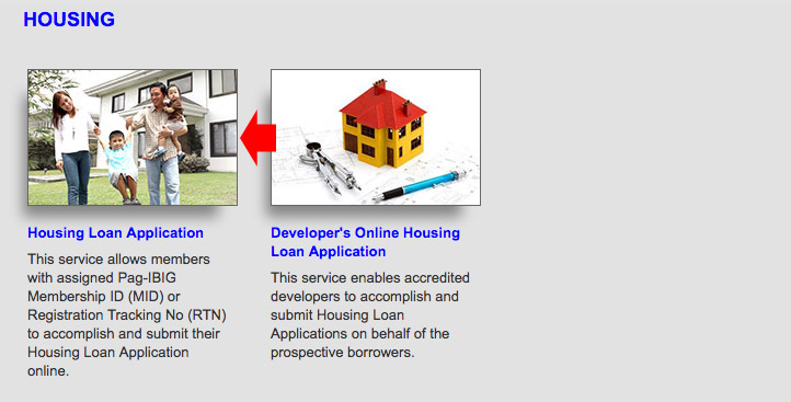 Housing loan Application