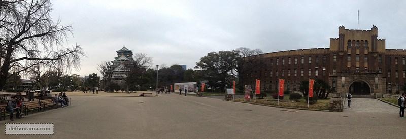 2 Hari Keliling Osaka - Osaka Castle Park