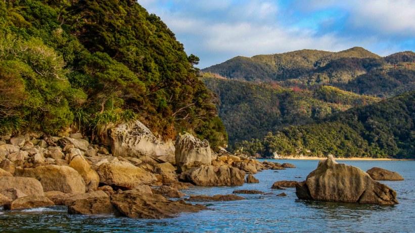 cruise i Abel Tasman National Park