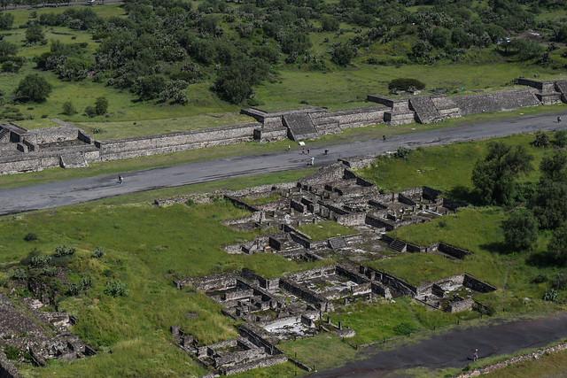 Residence Ruins at Teotihuacan