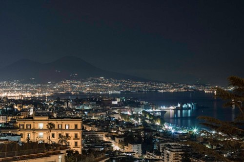 Napoli di notte - Naples by night