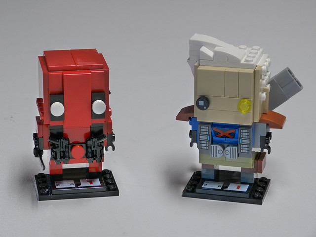 Brickheadz - Deadpool and Cable