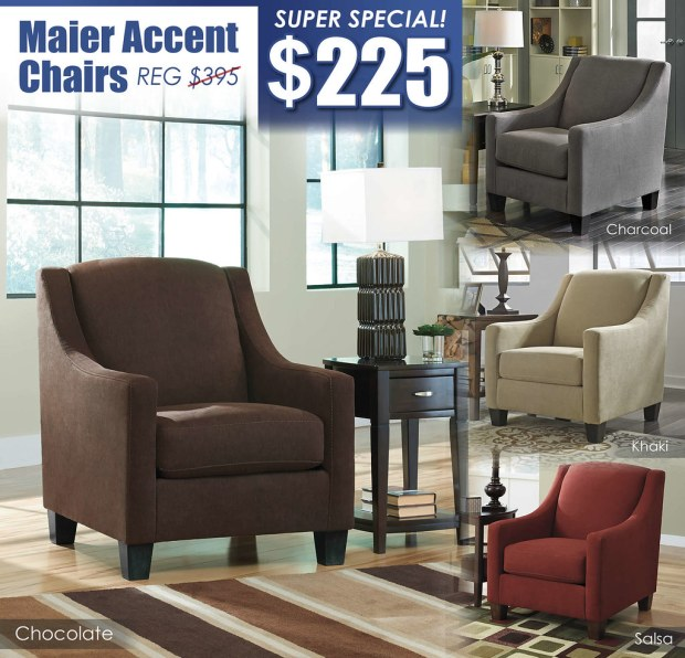 Maier 4Pack Accent Chairs_Chocolate_2017
