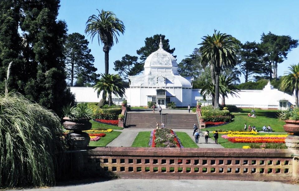 Invernadero de las Flores Conservatory of Flowers Golden Gate Park San Francisco California EE UU 01